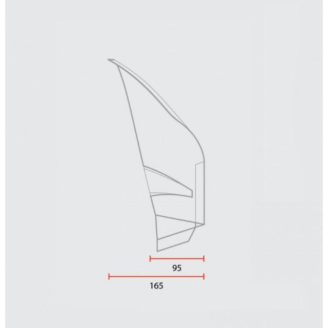 Saute vent 70' universal c-racer dessin