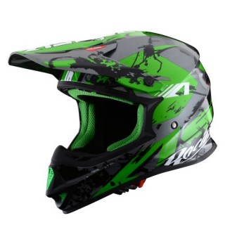 Casque moto cross astone mx 600 giant vert
