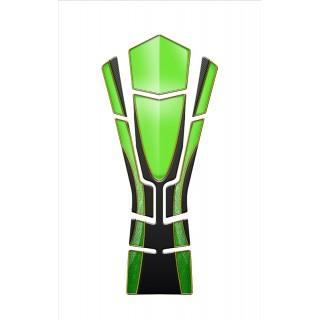 Protection de réservoir Mad pour Z1000 vert