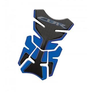 Protection de réservoir Mad pour Honda CBR bleu