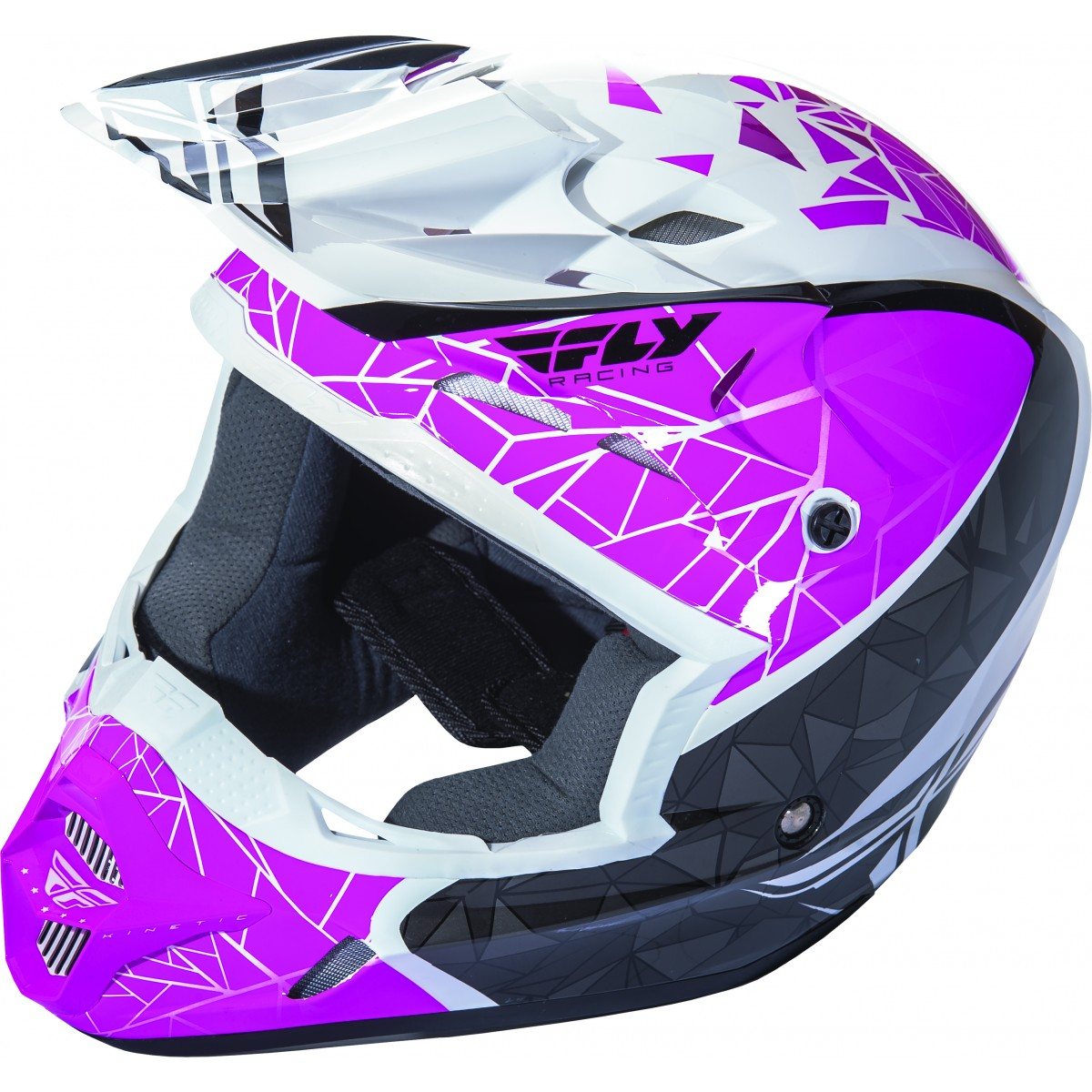casque moto cross fly racing fly kinetic crux femme