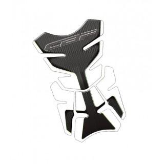 Protection de réservoir Mad pour Honda CBF blanc