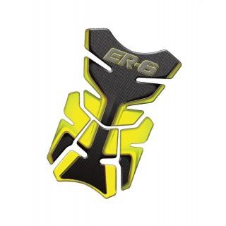 Protection de réservoir Mad pour Kawasaki ER-6 jaune