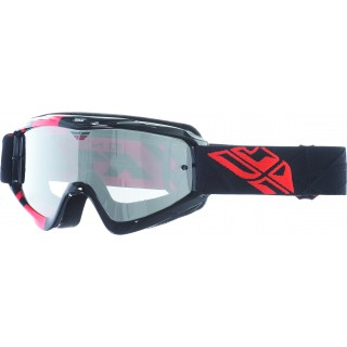 lunettes moto cross fly racing fly zone noir et orange
