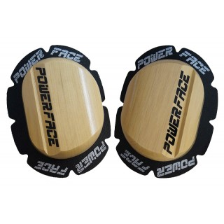 Sliders de genoux en bois Power face
