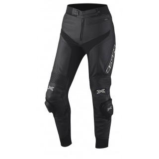 Pantalon moto cuir ixs rouven noir