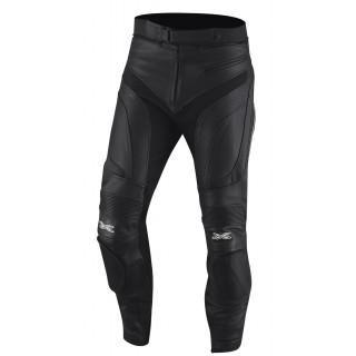 pantalon moto cuir raul noir