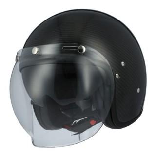 casque moto jet astone vintage carbone 3 K