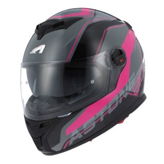 casque integral astone gt 800 wire rose