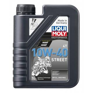 huile moto liqui moly semi synthèse 10W40 street 1 Litre