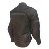 blouson moto textile femme mitsou melt 3 noir/gris