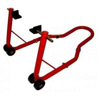 Béquille arrière moto rouge pro bike tools