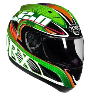 casque integral moto torx billy na vert